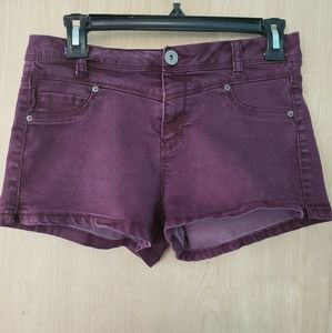 🔮🎶Purple Denim Short-Shorts🎶🔮